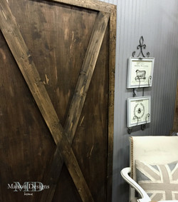 DIY Barn Door and French Country Set