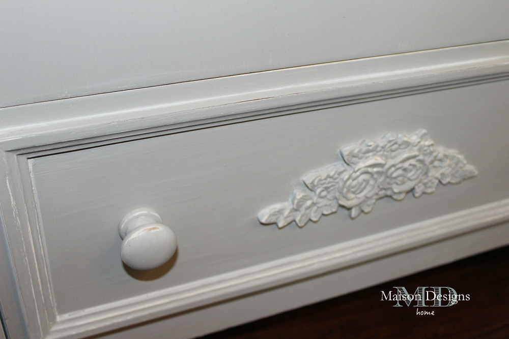 Armoire Paint Makeover - Maison Designs Home