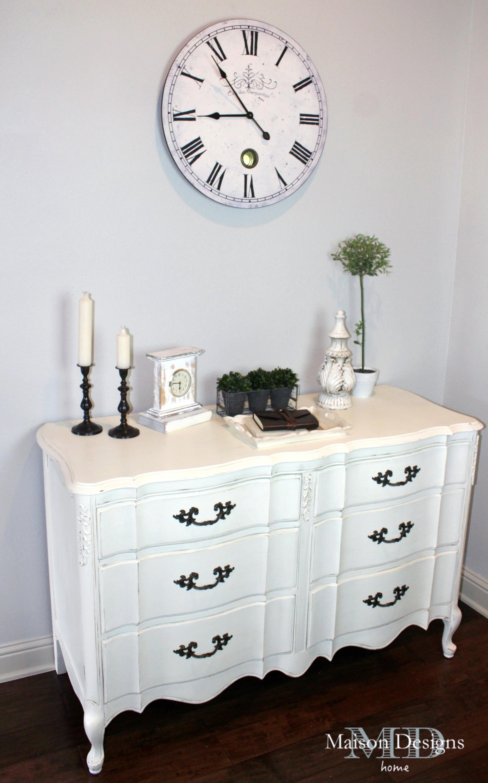 White Provincial Dresser