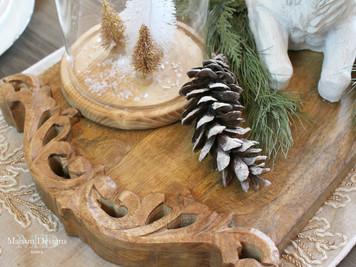 Narnia~Inspired Christmas Dining Room