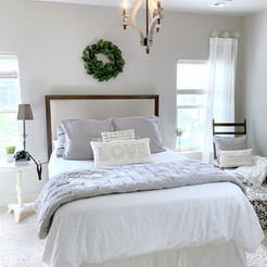 French Country Bedroom Update