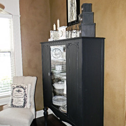 """A """"Throwback Thursday"""" Furniture Makeover: For the LOVE of paint!"""
