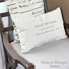 Rustic French Arm Chair ~ Makeover