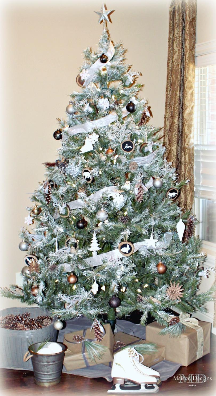 DIY Woodland Christmas theme-Maison Designs Home