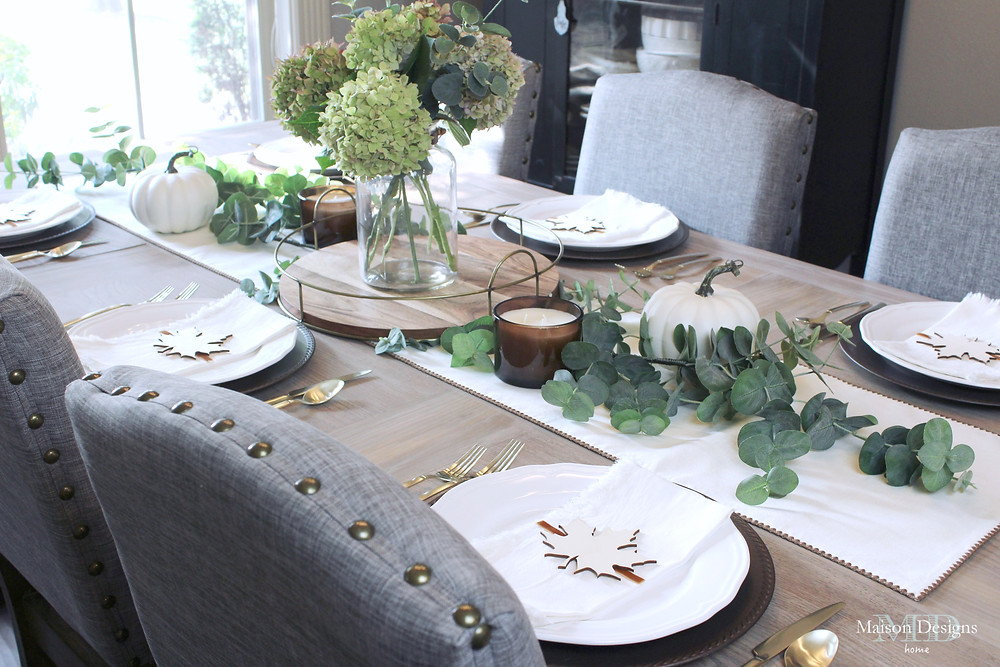 Layering in Fall decor-Maison Designs Home