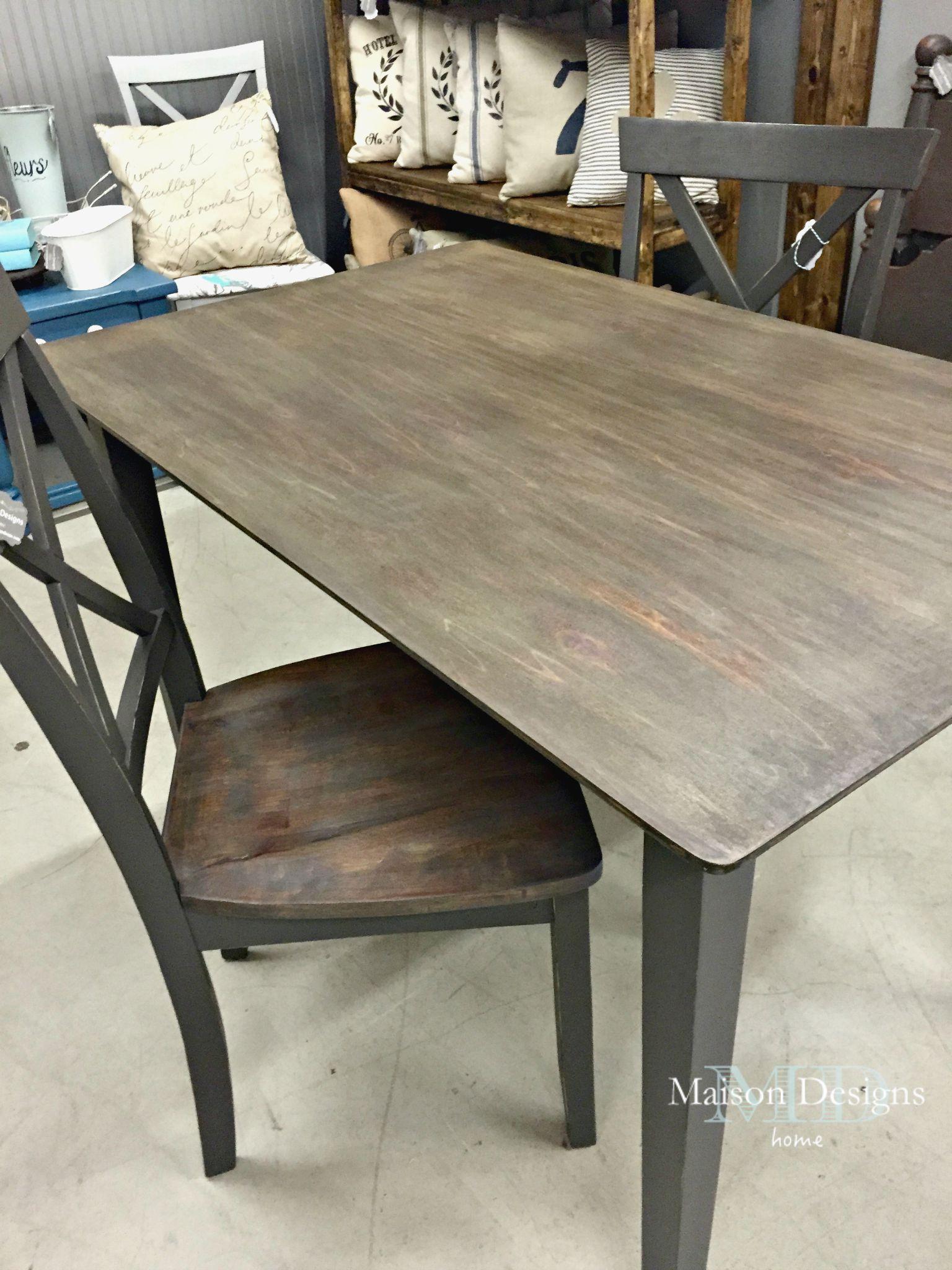 Gray Fox Restoration Table