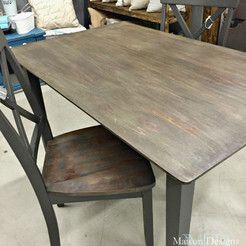 Gray Dining Table~Before & After Story