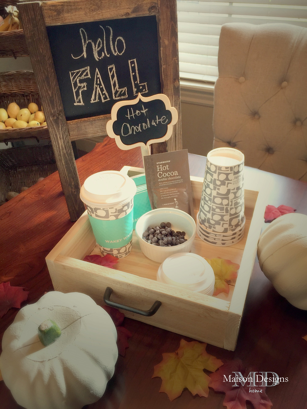 Fall Decor Ideas-Maison Designs Home