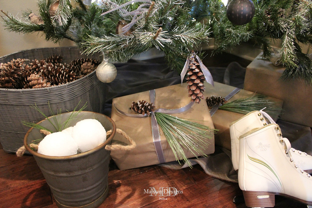 Woodland Christmas Theme Maison Designs Home