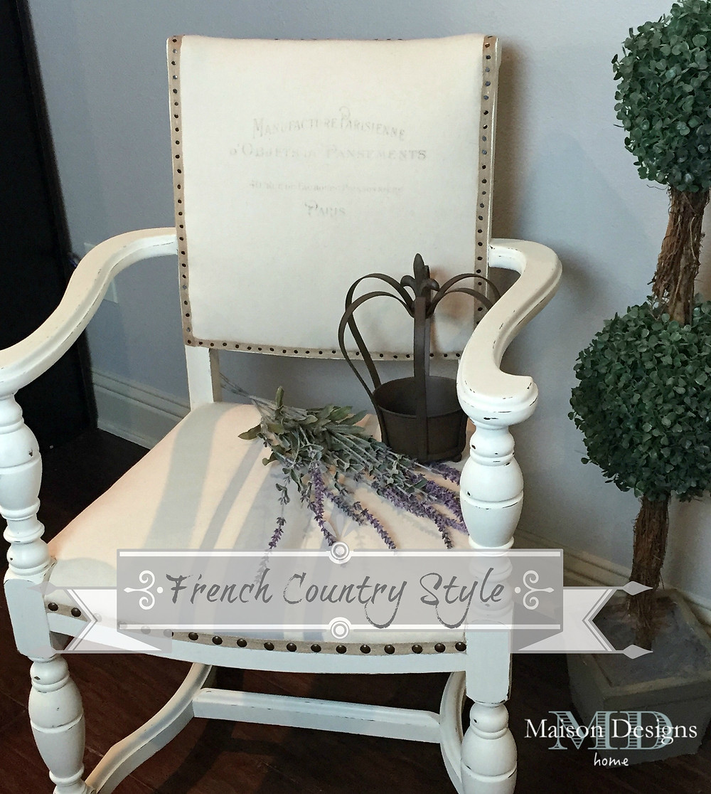 French Country Style ~ Maison Designs Home