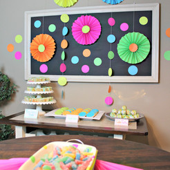 Decorating for a Birthday Party