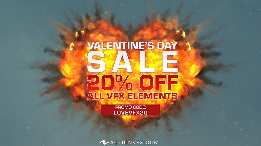 Valentine's Day 2018 Explosion Sale Ad .
