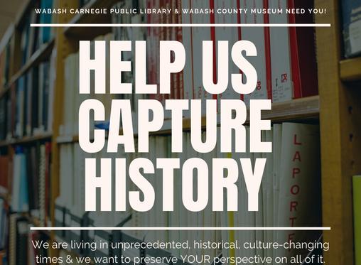 Help Capture History