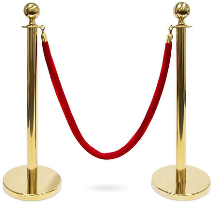 STANCHIONS - GOLD