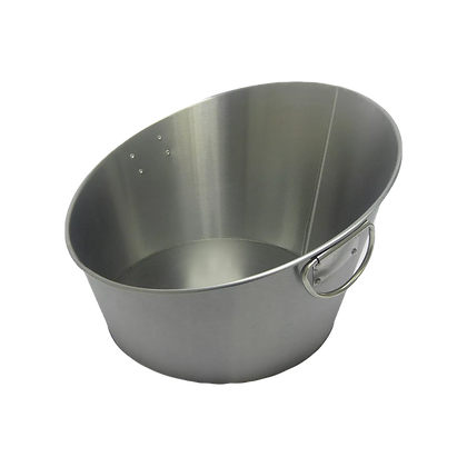 STAINLESS BEVERAGE TUB, ANGLED