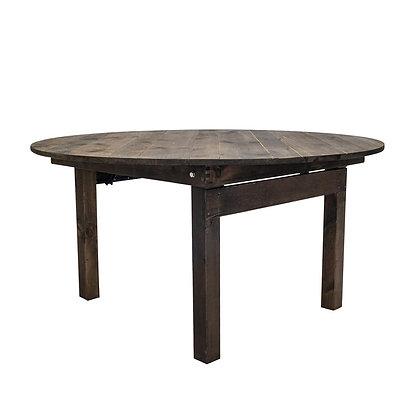 GRAHAM ROUND DINING TABLE - ANTIQUE PINE