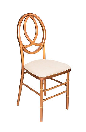 INFINITY CHAIR - ROSE GOLD