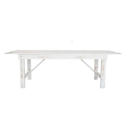 GRAHAM FARM TABLE - VINTAGE WHITE