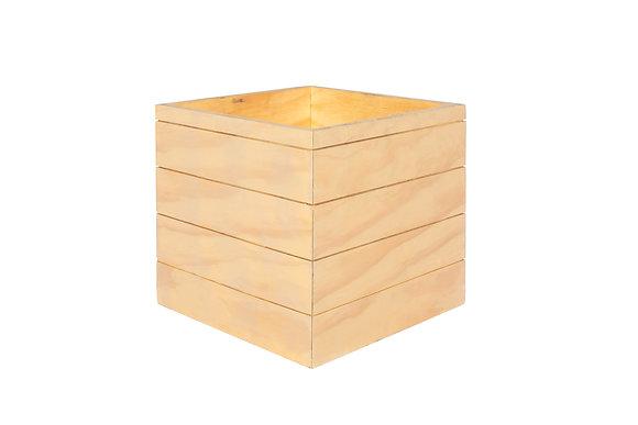 "BLONDE PLANTER BOX 14 1/2""W"