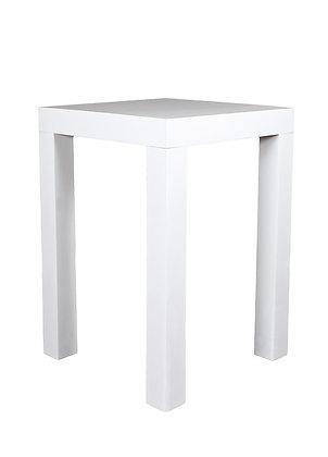 WHITE PUB TABLE