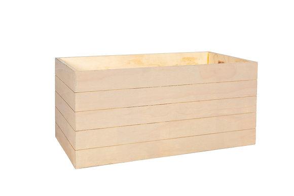 "BLONDE PLANTER BOX 34""W"