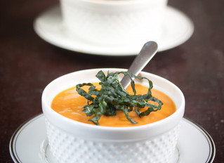 Thanksgiving Recipe: Sun-dried Tomato and Butternut Squash Bisque