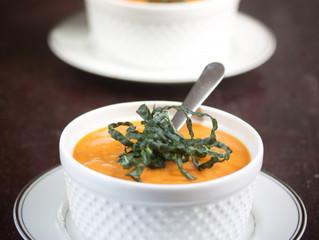 Thanksgiving Recipe: Sun-dried Tomato and Butternut Squash Bisque