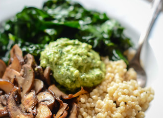 Weeknight Meal: This Killer Grain Bowl with Cashew Pesto
