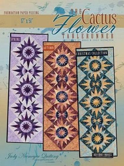 Cactus Flower Tablerunner Pattern