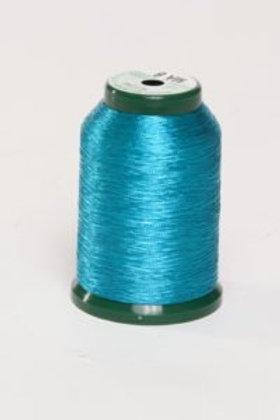 Metallic Embroidery Thread - 1000m Turquoise