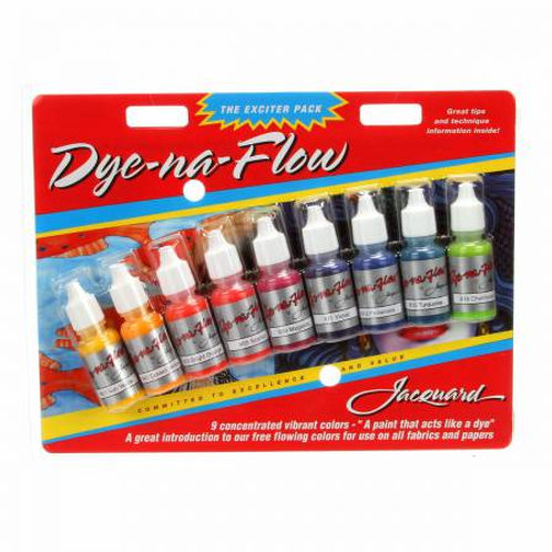 Paint Sampler 9 Pack Dye Na Flow