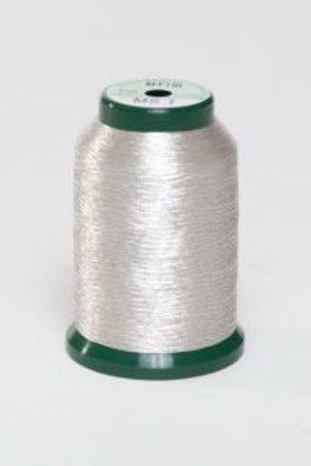 Metallic Embroidery Thread - 1000m Silver