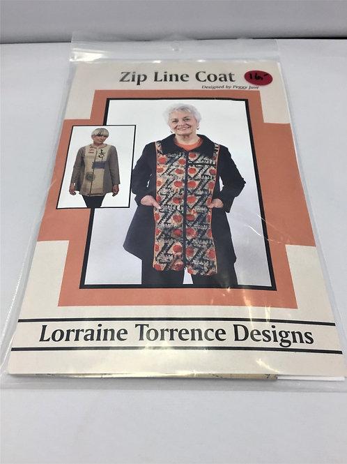 Zip Line Coat by Peggy Juve