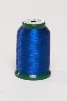 Metallic Embroidery Thread - 1000m Dark Blue