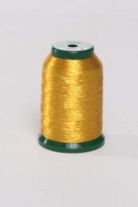 Metallic Embroidery Thread - 1000m Gold