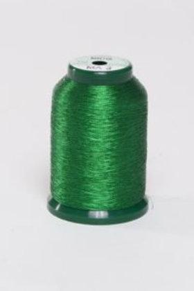 Metallic Embroidery Thread - 1000m Green