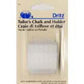 Tailor Chalk w/Holder & Sharpnr