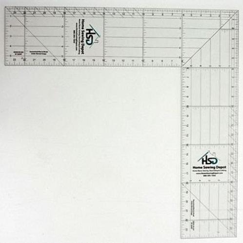 """Folding Square - 6"""" x 24"""""""