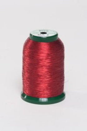 Metallic Embroidery Thread - 1000m Red