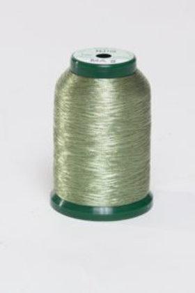 Metallic Embroidery Thread - 1000m Pale Green