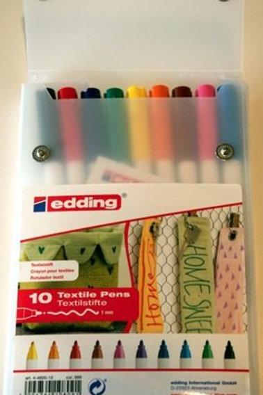 Textile Pens 1mm