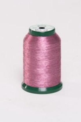 Metallic Embroidery Thread - 1000m Carnation