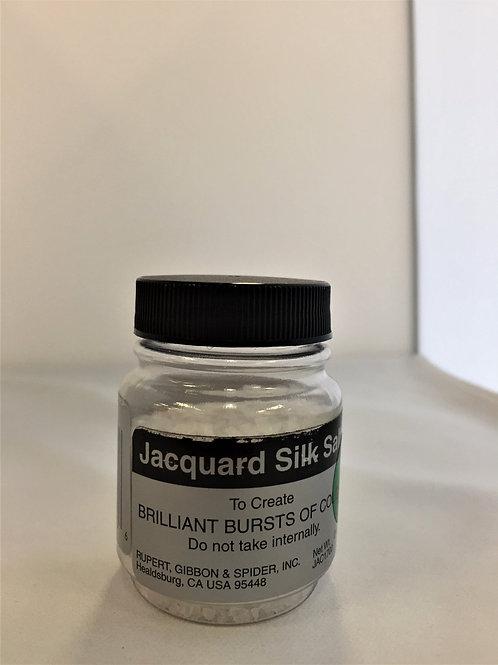 Jacquard Silk Salt