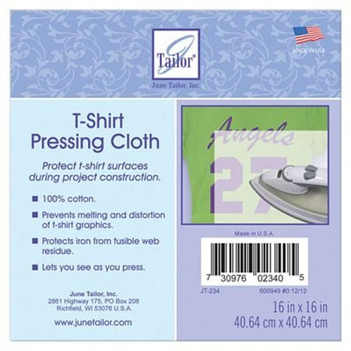 "T-Shirt Pressing Cloth 16x16"""