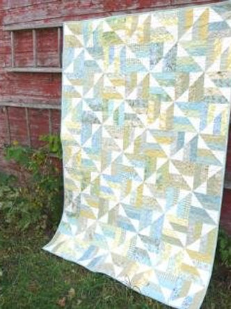 Thangles kit two-strip mix up quilt