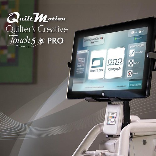 QuiltMotion Quilter's Creative Touch 5 (Pro)