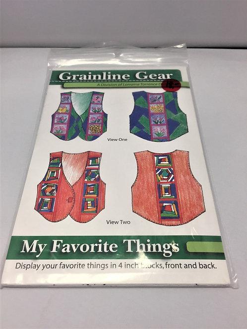 Grainline Gear - My Favorite Things