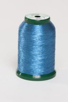 Metallic Embroidery Thread - 1000m Persian Blue