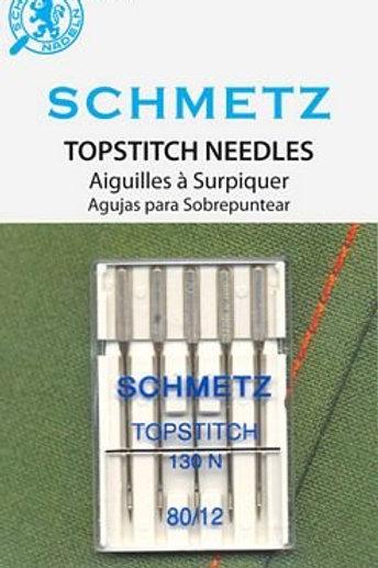Topstitch Needle 80/12 5ct