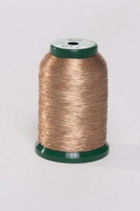 Metallic Embroidery Thread - 1000m Copper
